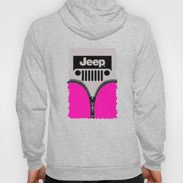 Jeep Pink Zipper Hoody