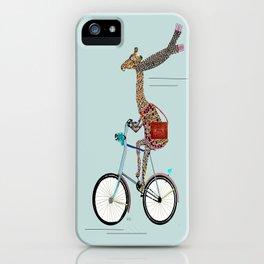 Giraffes School Days  iPhone Case