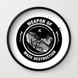 Weapon of Mass destruction Wall Clock