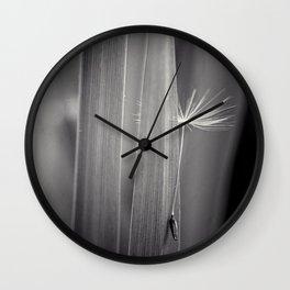 reticent Wall Clock