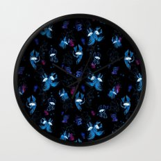 Disco pattern Wall Clock