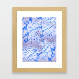 Blue Beets Framed Art Print