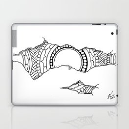 Ripped Mandala Laptop & iPad Skin