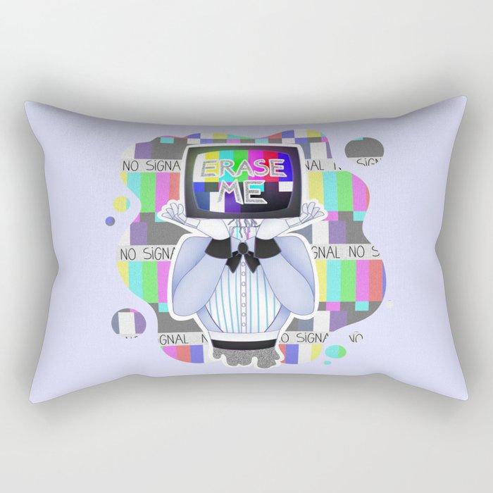 Erase Me Rectangular Pillow