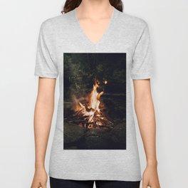 Campfire II Unisex V-Neck