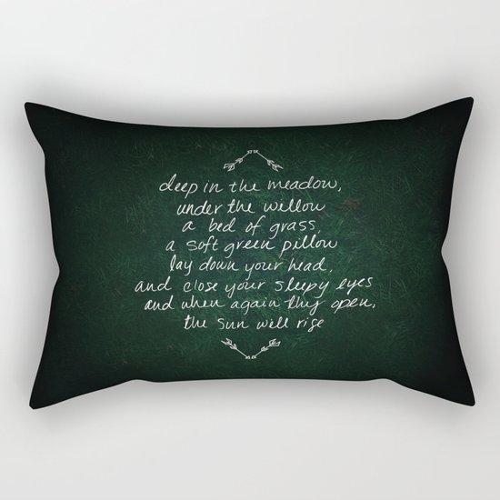 Rue's Song Rectangular Pillow