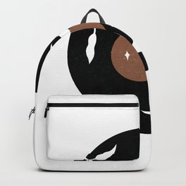 Crescent Night Sky Backpack