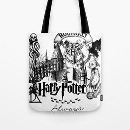 HP Drawing Tote Bag