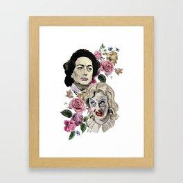 Whatever Happened To BabyJane Framed Art Print
