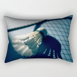 Shadows of badminton Rectangular Pillow