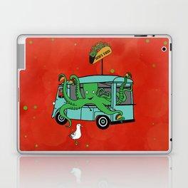 Flock of Gerrys Gerry Meets Octo & his Tacos Laptop & iPad Skin