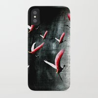 cage iPhone & iPod Cases featuring Bird Cage by Kay Weber