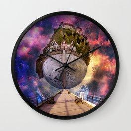 Interstellar Stroll Wall Clock