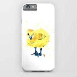 Baby Duck - Canada Goose Gosling iPhone Case
