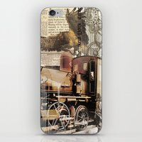 industrial iPhone & iPod Skins featuring Industrial by victorygarlic - Niki