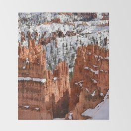 Bryce Canyon - Sunset Point II Throw Blanket