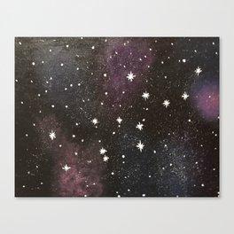 Virgo Constellation Canvas Print