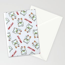 Maneki Neko Tenshu Stationery Cards