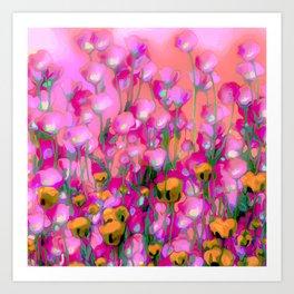Spring Blush too ... Art Print