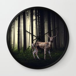 Tales of Wilderness Wall Clock