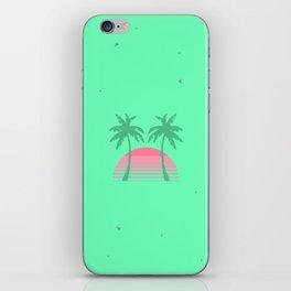 Geometric 80's Sunset iPhone Skin