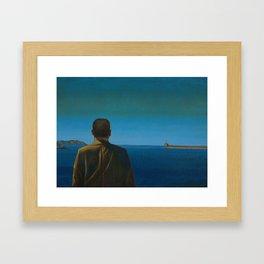 The Silent Man Framed Art Print