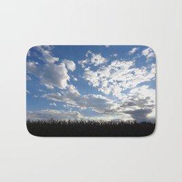 Corn Field Blue Sky Bath Mat
