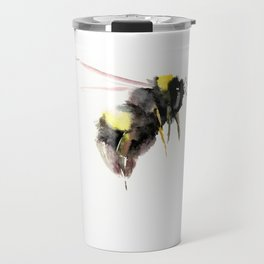 Bumblebee, bee art, bee design Travel Mug