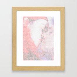 Eternal Sunshine Script Print Framed Art Print