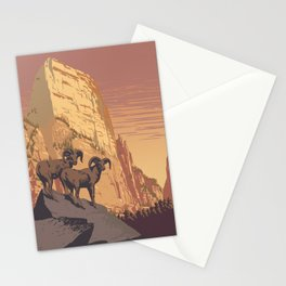 Zion National Park Dawn Stationery Cards