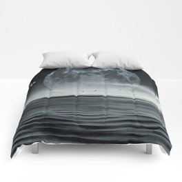 oceans of tranquility Comforters