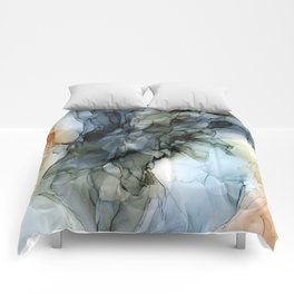 Southwestern Desert Abstract Landscape Inspired Comforters