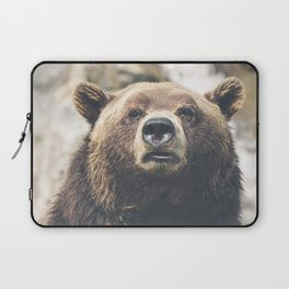 Bear Head Laptop Sleeve