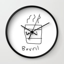 Bovril Wall Clock