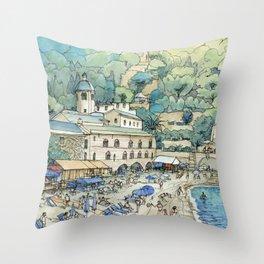 S. fruttuoso, Portofino Throw Pillow