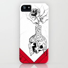 Flowery candle iPhone Case
