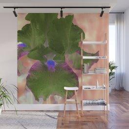 Iris No.1k by Kathy Morton Stanion Wall Mural