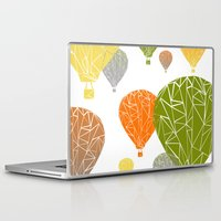 balloons Laptop & iPad Skins featuring BALLOONS by ARCHIGRAF