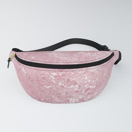 Pink Cement Fanny Pack