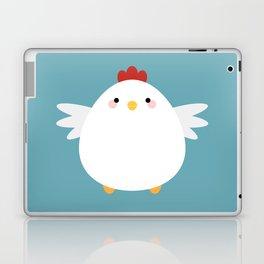 White Chicken Laptop & iPad Skin