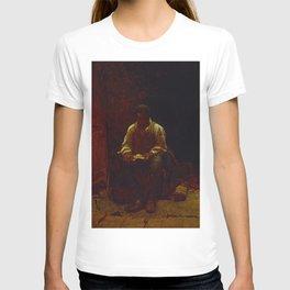12,000pixel-500dpi - The Lord Is My Shepherd - Eastman Johnson T-shirt
