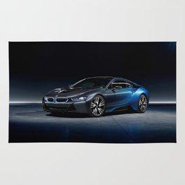 B M W i8 Concept Car Rug