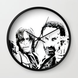 Brothers in arms Wall Clock