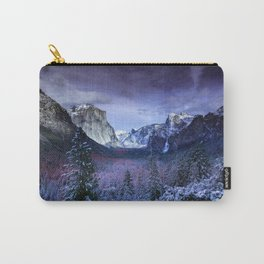 Yosemite in Winter Carry-All Pouch