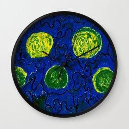 The Cucumbers Wall Clock