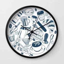 Coffee is Life Wall Clock