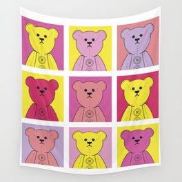 Grumpy Teds Bright Block Wall Tapestry