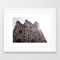 florence Framed Art Prints featuring Florence by Chatoyantes
