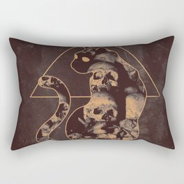 Doom Cat Rectangular Pillow