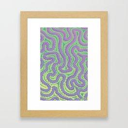 Coral: Brain Coral Framed Art Print